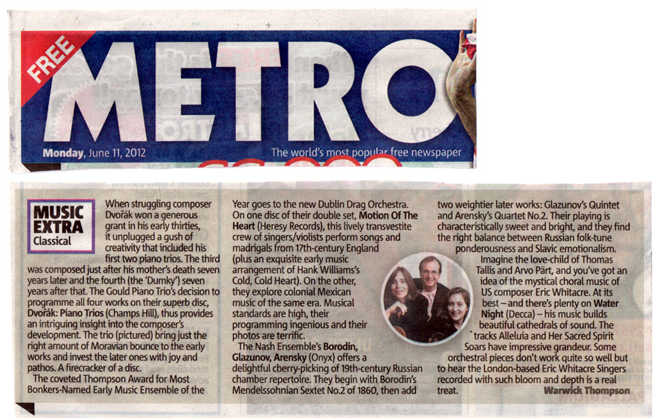 The Dublin Drag Orchestra Metro review
