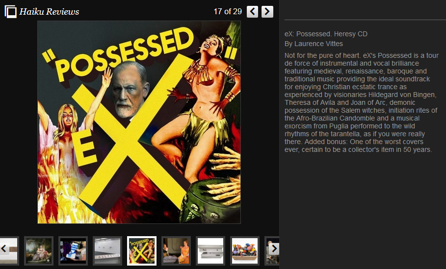 Huffington Post review POSSESSED