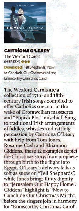 The Wexford Carols review from The Independent