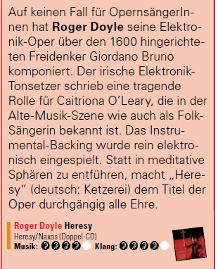 HERESY review on AUDIO Magazine