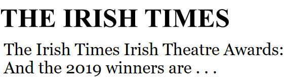 Irish Theatre Awards