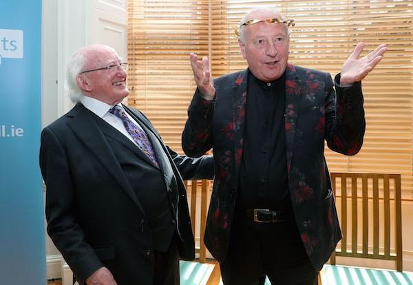 Michael D. Higgins & Roger Doyle